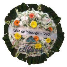 Coroa de Flores Cemitério Carmo - São Paulo - SP