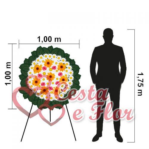 Coroa de Flores Pequena