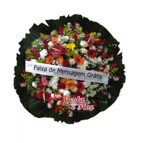 Coroa de Flores Alpina