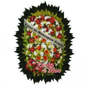 Coroa de Flores Memorial Parque Paulista - Embu