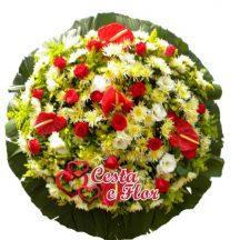 Coroa de Flores Primavera