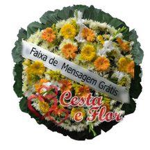 Coroa de Flores Sagrado Coração