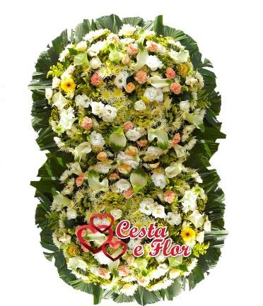 Coroa de Flores Vertical