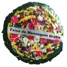 Coroa de Flores Chora Menino