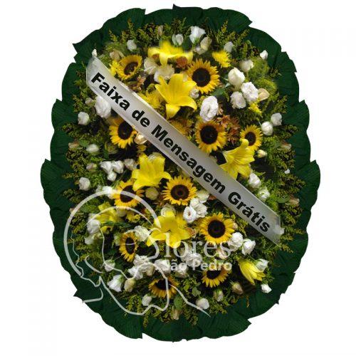 Coroa de Flores Girassóis