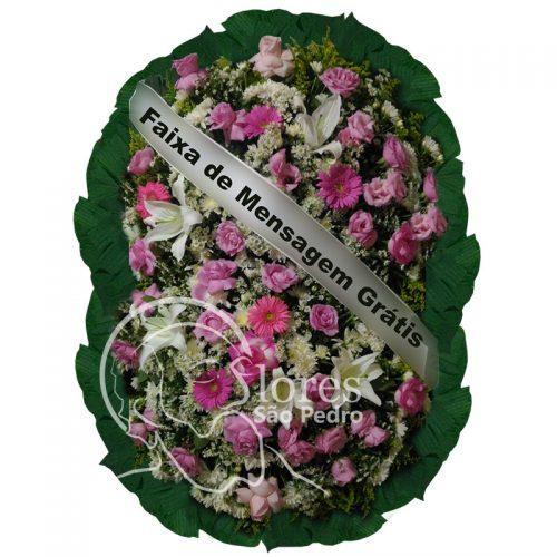 Coroa de Flores Santo Amaro