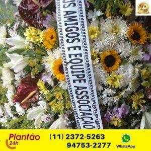 Coroa de Flores Cemiterio Vila Alpina