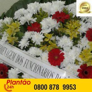 Coroa de Flores Cemitério Jardim da Saudade - Curitiba