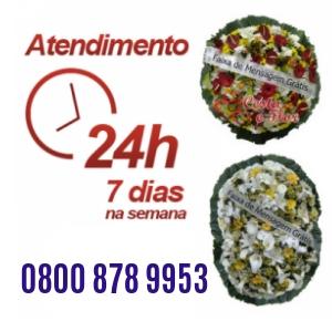 Floricultura 24 horas para entrega de coroa de flores para velório em Brasília - DF