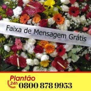 Coroa de Flores Cemitério Jaraguá