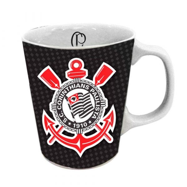 Caneca Oficial Corinthians Futebol