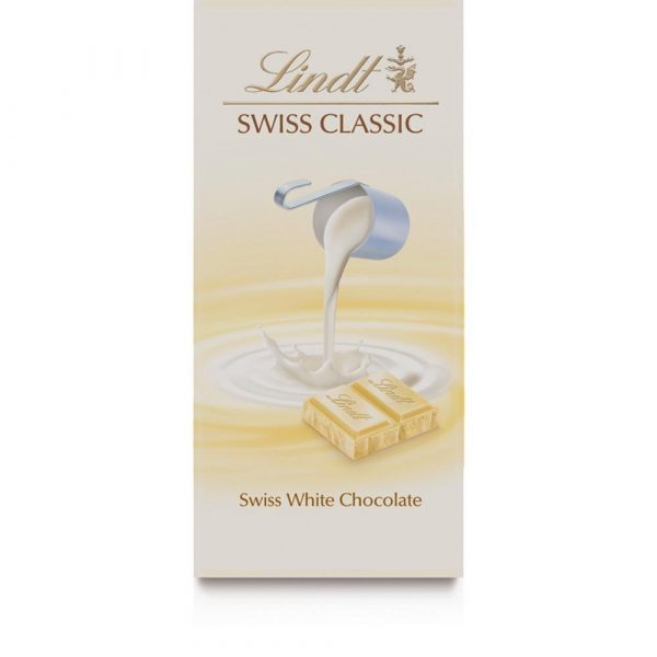 Chocolate Suiço Lindt Branco