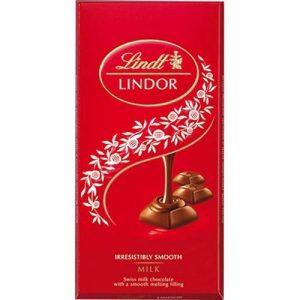 Chocolate Suiço Lindt ao Leite