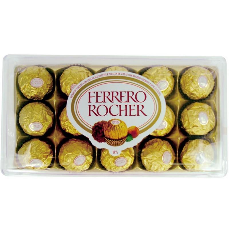 Caixa de Bombons Ferrero Rocher G