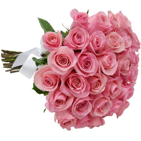 Buque com 36 rosas Cor de rosa