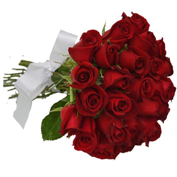Buque 18 rosas vermelha