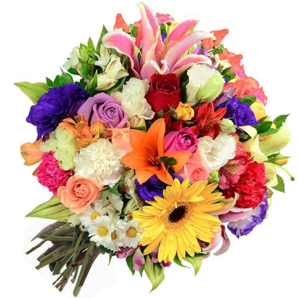 Buquê de Flores Nobres Colorido